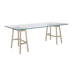Single Curve Dining Table | Mesas comedor | WIENER GTV DESIGN
