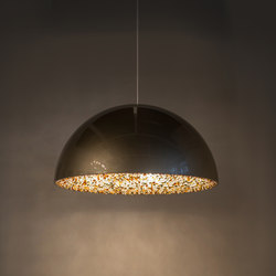 Lune champagne gold | Suspended lights | Manooi