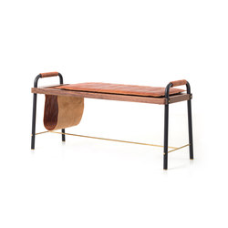 Valet Seated Bench | Bancos | Stellar Works