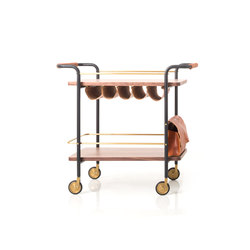 Valet Bar Cart | Wagen | Stellar Works