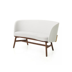 Bund Chair Two Seater | Sofás lounge | Stellar Works