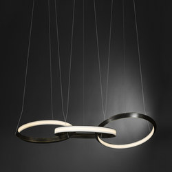 Oracle 3 ring | Suspended lights | Christopher Boots