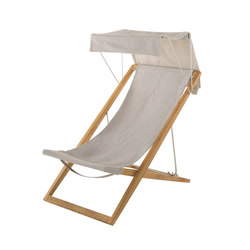Cosette Deckchair with canopy | Sun loungers | Unopiù