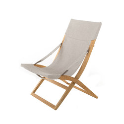 Cosette Deckchair with armrests | Sun loungers | Unopiù