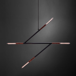 Simple z | Suspended lights | Christopher Boots