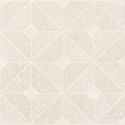 Kotto Decors Decò Sign Calce | Ceramic tiles | EMILGROUP