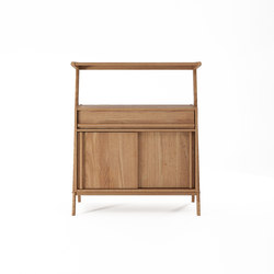 Tribute SIDEBOARD with 2 SLIDING DOORS & DRAWER | Credenze | Karpenter