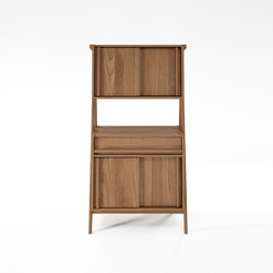 Tribute CUPBOARD with 2 X 2 SLIDING DOORS & DRAWER | Armadi | Karpenter