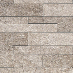 La Fabbrica - I Quarzi - Muretto 3D Prasio | Mosaics | La Fabbrica