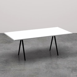 Meety rettangolare | Restaurant tables | Arper