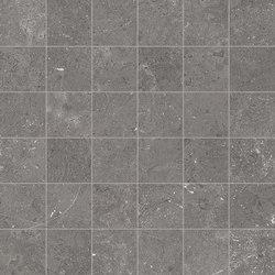 Milestone Dark Grey Mosaico | Mosaicos de cerámica | EMILGROUP
