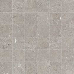 Milestone Grey Mosaico | Ceramic mosaics | EMILGROUP
