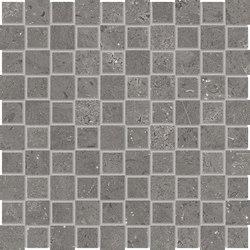 Milestone Dark Grey Mosaico Tip Tap | Ceramic mosaics | EMILGROUP