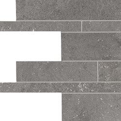 Milestone Dark Grey Listelli sfalsati | Baldosas de cerámica | EMILGROUP