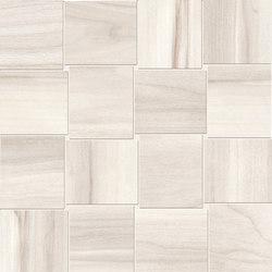 Millelegni Intarsio White Toulipier | Mosaicos | EMILGROUP