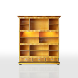 Impero Bookcase | Shelving systems | Rossato
