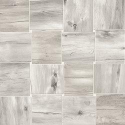 Millelegni Intarsio Grey Ash | Ceramic mosaics | EMILGROUP