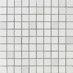 Ava - Axel - Mosaico Bianco Satinato | Ceramic mosaics | La Fabbrica