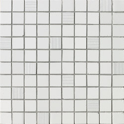 Ava - Axel - Mosaico Bianco Satinato | Mosaici | La Fabbrica