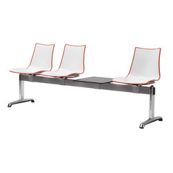 Zebra Bicoloured Bench | Beam / traverse seating | Scab Design