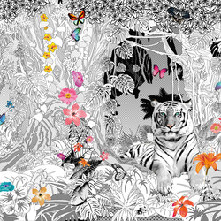 Ava - Wallpaper Lux - Jungle Fever | Wall coverings / wallpapers | La Fabbrica