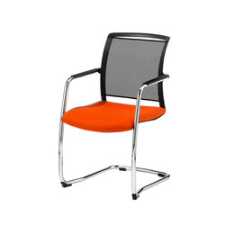 Prio Freischwinger 5069/10 S-VP | Visitors chairs / Side chairs | Stechert Stahlrohrmöbel