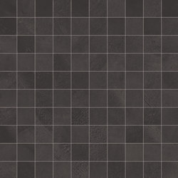 Architect Resin Mosaico Bruxelles Black | Ceramic mosaics | EMILGROUP