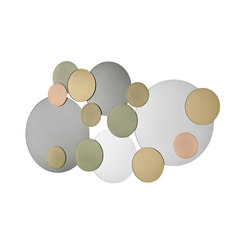 Atomic Wall mirror | Miroirs | Tonelli