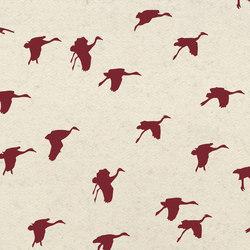 Aquatic Crane | Fabrics | Kurage
