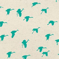 Aquatic Crane | Textilien | Kurage