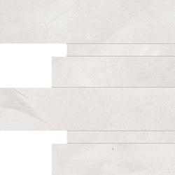 Architect Resin Mosaico Listelli Tokyo White | Carrelage céramique | EMILGROUP