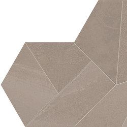 Architect Resin Design Hong Kong Taupe | Ceramic mosaics | EMILGROUP