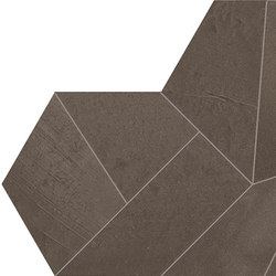Architect Resin Design Miami Brown | Ceramic mosaics | EMILGROUP