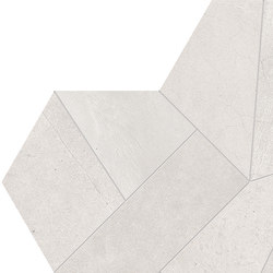 Architect Resin Design Tokyo White | Mosaïques céramique | EMILGROUP