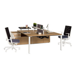Barbari Operational Desk System | Systèmes de tables de bureau | Koleksiyon Furniture