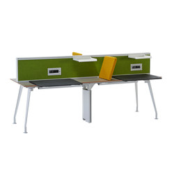 Borges Operational Desk System | Systèmes de tables de bureau | Koleksiyon Furniture