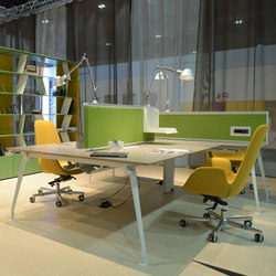 Borges Operational Desk System | Bureaux | Koleksiyon Furniture