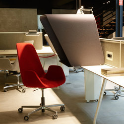 Borges Operational Desk System | Sistemi tavolo con divisori | Koleksiyon Furniture