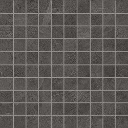 Cornerstone Slate Black Mosaico | Ceramic mosaics | EMILGROUP