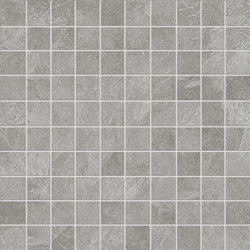 Cornerstone Slate Grey Mosaico | Ceramic mosaics | EMILGROUP