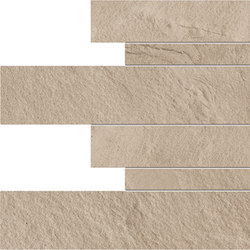 Cornerstone Rockface Listelli sfalsati | Ceramic tiles | EMILGROUP