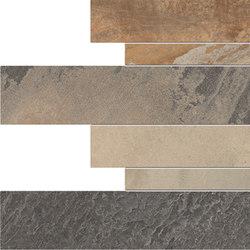 Cornerstone Slate Multicolor Listelli sfalsati | Tiles | EMILGROUP