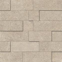 Limestone Beige Mosaico 3D | Mosaïques | EMILGROUP