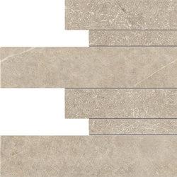 Limestone Beige Listelli sfalsati | Keramik Fliesen | EMILGROUP