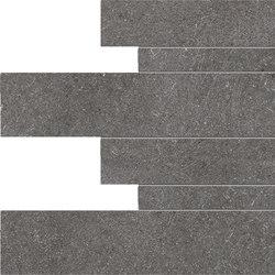 Limestone Dark Listelli sfalsati | Baldosas de cerámica | EMILGROUP