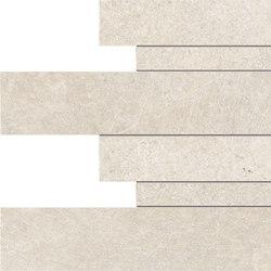 Limestone White Listelli sfalsati | Außenfliesen | EMILGROUP