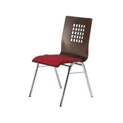 Gestell P | Schale 1045 | Besucherstühle | Stechert Stahlrohrmöbel