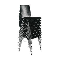 Gestell KF | Schale 1014 | Sedie visitatori | Stechert Stahlrohrmöbel
