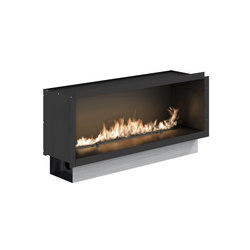 Fire Line Automatic 2 model E in casing | Fireplace inserts | Planika
