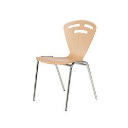 Gestell ST | Schale 1017 | Besucherstühle | Stechert Stahlrohrmöbel